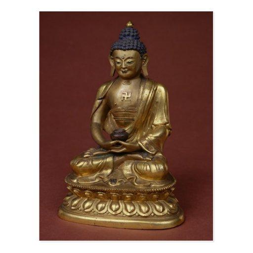 Buda Amitayus asentado en la meditación Postales
