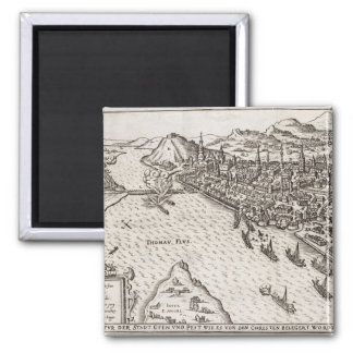 Buda and Pest Besieged by the Christians in 1602, Magnets