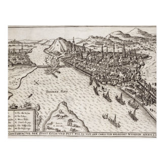 Buda and Pest Besieged by the Christians in 1602, Postcard