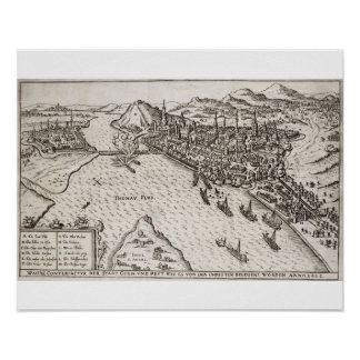 Buda and Pest Besieged by the Christians in 1602, Poster