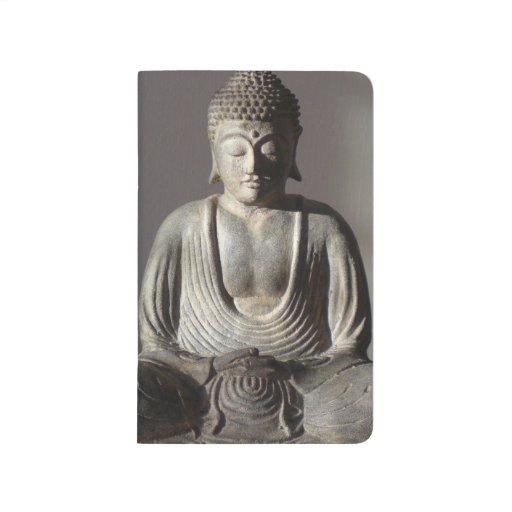 Buda asentado cuadernos