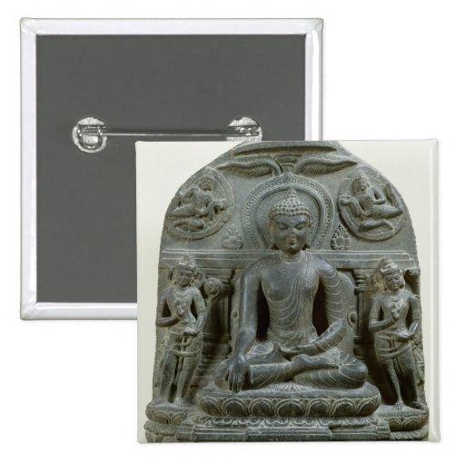 Buda asentado en la meditación pin