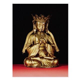 Buda asentado postales
