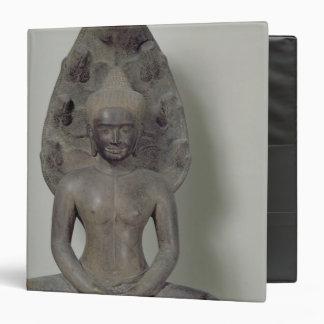 """Buda asentó en la meditación en el Naga, Angkor Carpeta 1 1/2"""""""