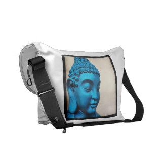Buda azul bolsa de mensajeria
