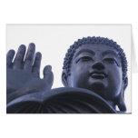 Buda azul felicitacion
