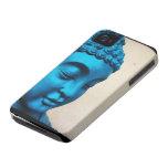 Buda azul iPhone 4 carcasa