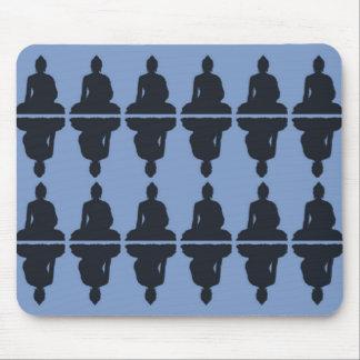 Buda azul Mousepad