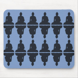 Buda azul Mousepad Tapete De Raton
