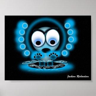 Buda azul impresiones