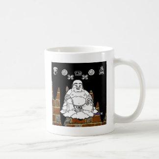 BUDA BRICK BACKGROUND PRODUCTS COFFEE MUG