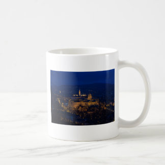 Buda Castle Hungary Budapest at night Coffee Mug