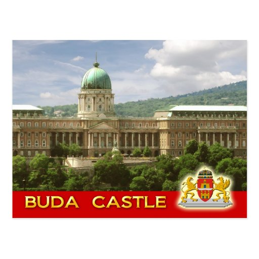 Buda Castle in Budapest, Hungary Post Card