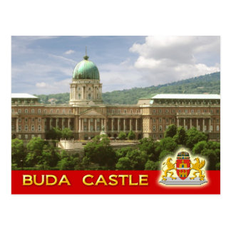 Buda Castle in Budapest, Hungary Postcard