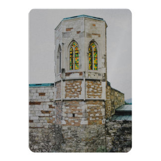 Buda castle old tower, Budapest Cards