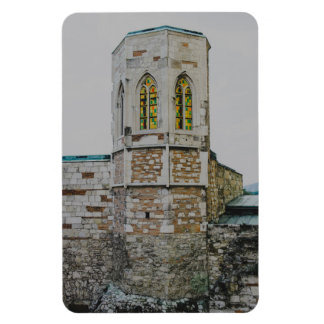 Buda castle old tower, Budapest Rectangle Magnets