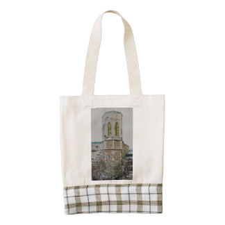 Buda castle old tower, Budapest Zazzle HEART Tote Bag