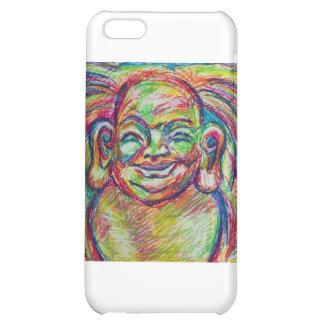Buda colorido sonriente