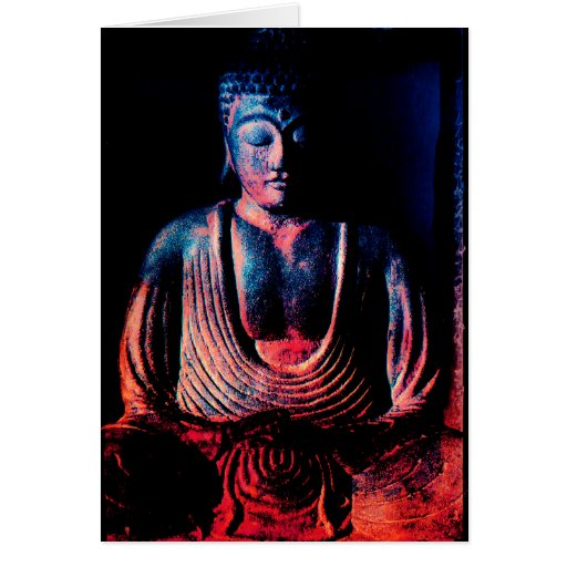 Buda. Cuadro de Buda Felicitaciones