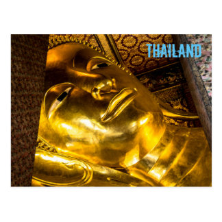Buda de descanso de la postal de Wat Pho