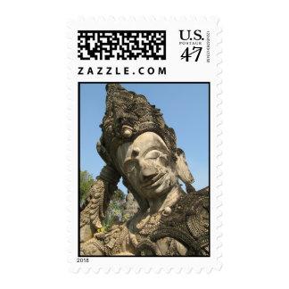 Buda de descanso… Nong Khai, Isan, Tailandia Timbres Postales