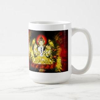 Buda de la compasión taza de café