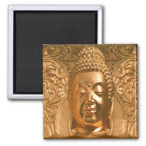 Buda de oro - impresionante imanes para frigoríficos