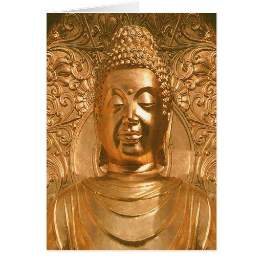 Buda de oro - impresionante felicitación