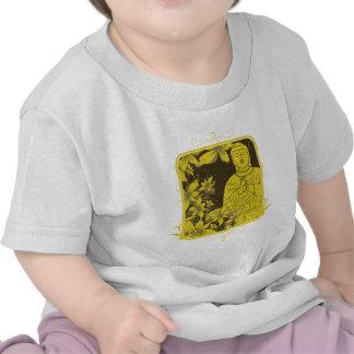 Buda de oro camisetas