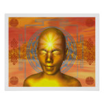Buda de oro poster