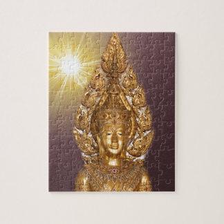 Buda de oro puzzle