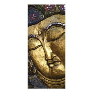 Buda de oro que bendice tarjetas inspiradas del tarjetas publicitarias