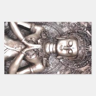 Buda de plata rectangular altavoces