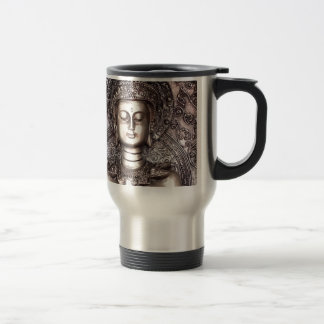 Buda de plata taza