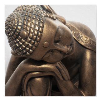 Buda de reclinación perfect poster