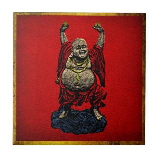 Buda de risa (color 4) teja  ceramica