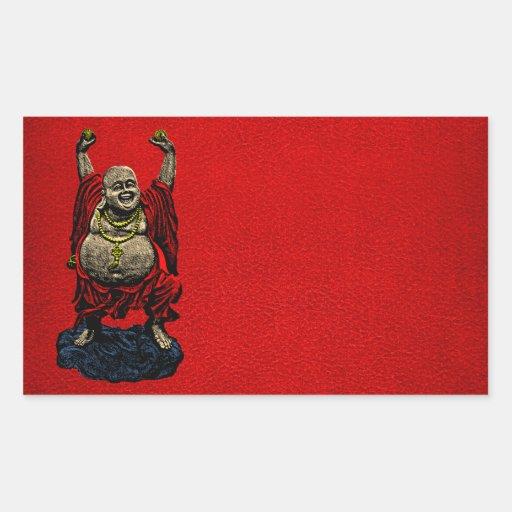 Buda de risa (color 4) pegatina