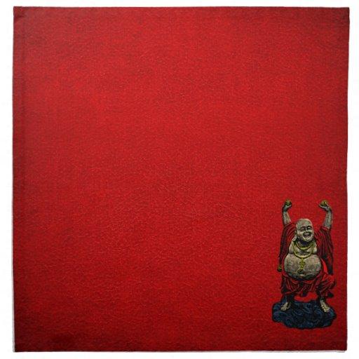 Buda de risa (color 4) servilletas