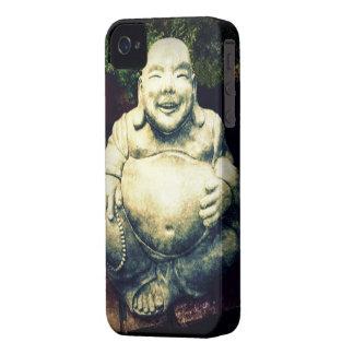 Buda de risa iPhone 4 Case-Mate fundas