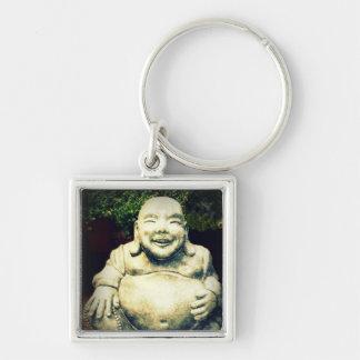 Buda de risa llavero