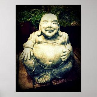 Buda de risa póster