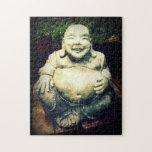 Buda de risa rompecabezas con fotos