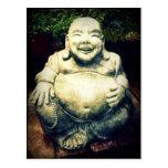 Buda de risa tarjetas postales