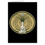 Buda debajo del árbol de Bodhi Tarjeta De Felicitación
