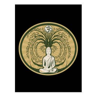Buda debajo del árbol de Bodhi Postal