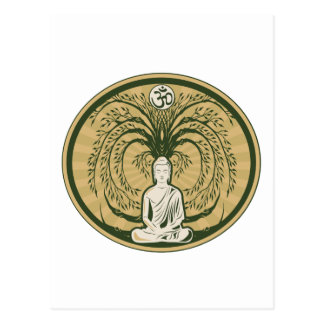 Buda debajo del árbol de Bodhi Tarjeta Postal
