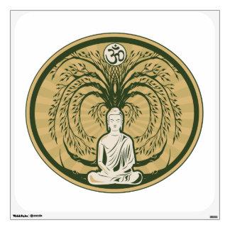 Buda debajo del árbol de Bodhi Vinilo