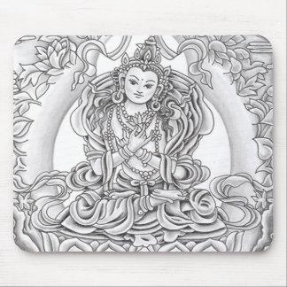Buda del cojín de ratón de la compasión mouse pads