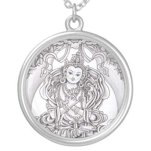Buda del colgante de la plata esterlina de la comp