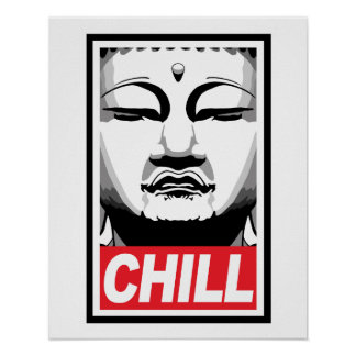 Buda desapasible poster